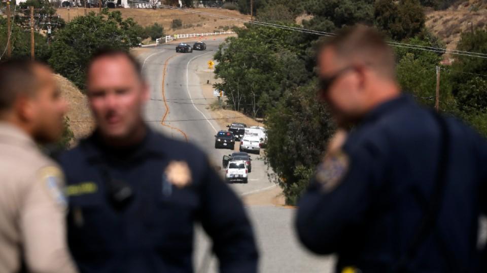 California fire station shooting