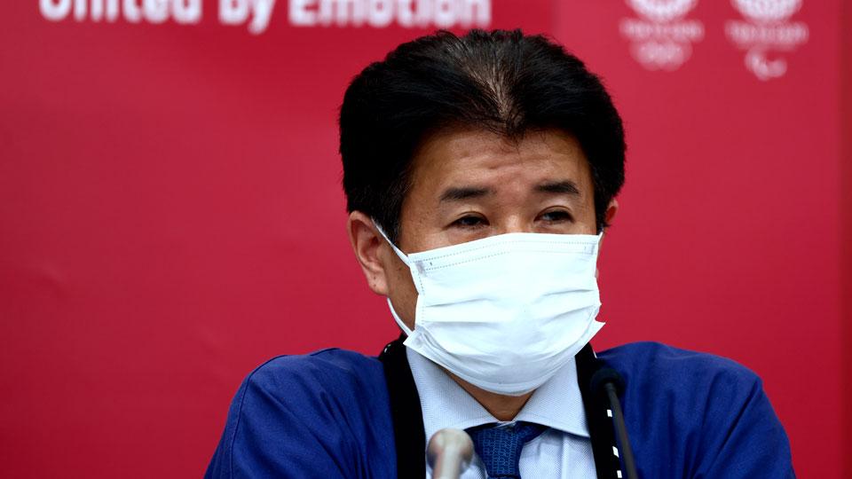 Chief of the main operation centre of Tokyo 2020 Olympic Games Hidemasa Nakamura