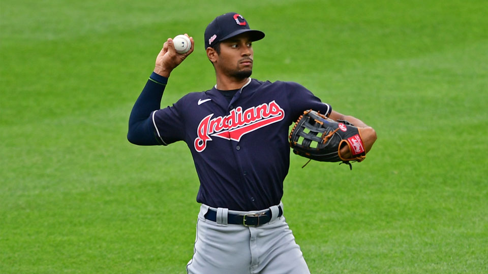 Cleveland Indians' Oscar Mercado