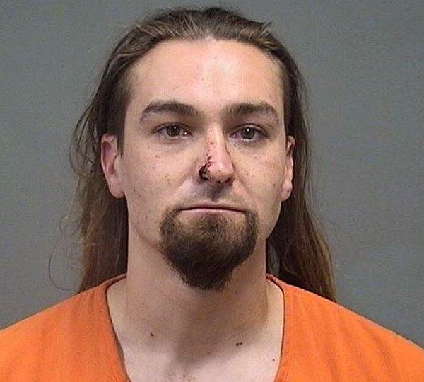 Dieken Smith, of Campbell, trespassing, burglary, assault