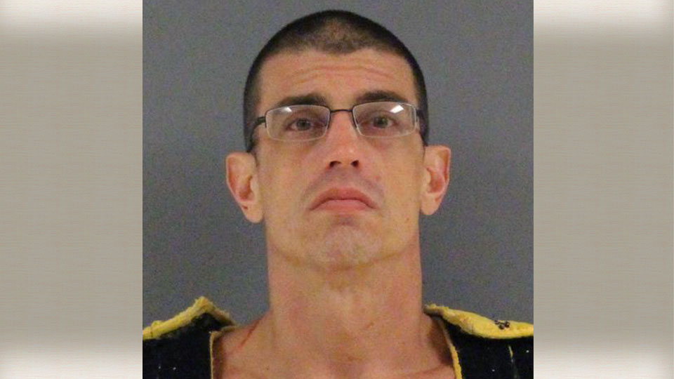 Eric George, charged with criminal homicide in Coolspring Township, Pennsylvania