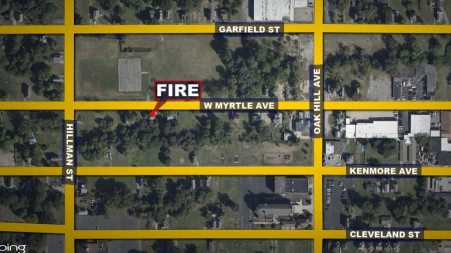 Fire Map: W. Myrtle Avenue, Youngstown