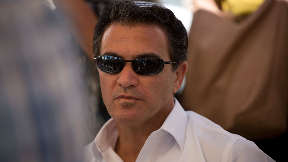 Yossi Cohen, then the director of Israel's Mossad intelligence agency