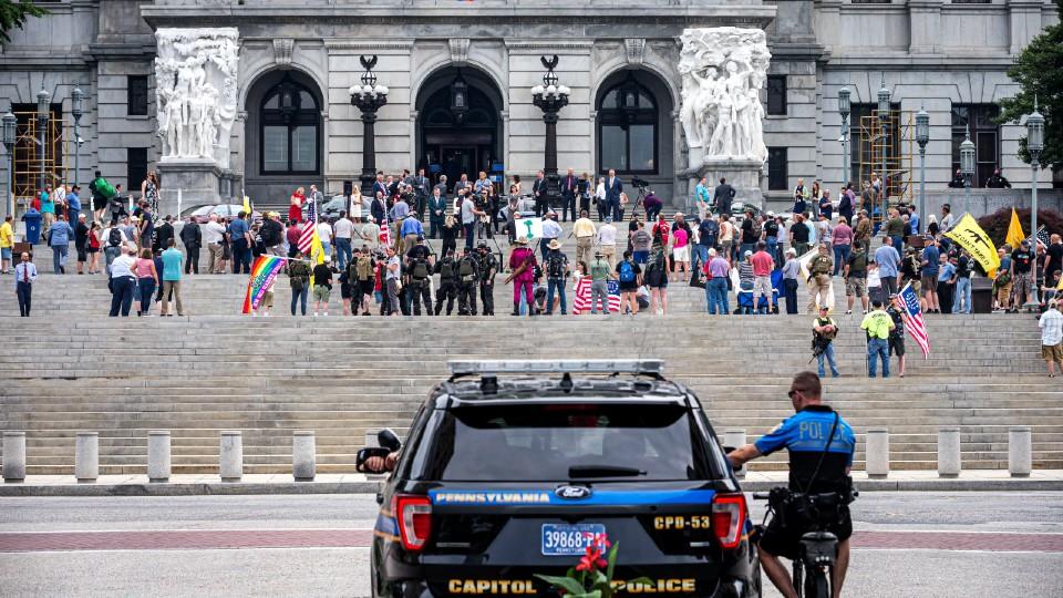 Gun rally at Pennsylvania Capitol