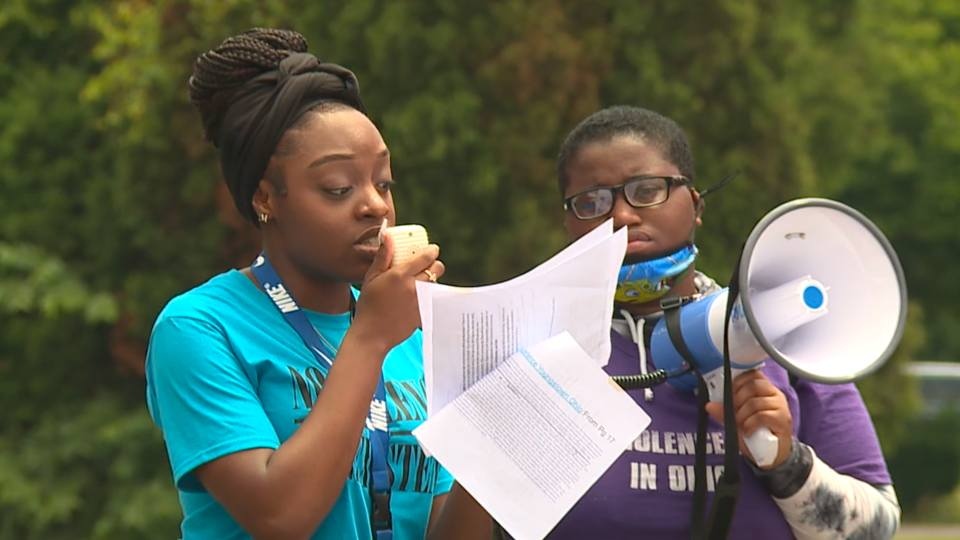 The Mahoning Valley Sojourn to the Past hosted a rally Saturday in response to House Bill 322, a bill that centers around how racism would be taught in schools.