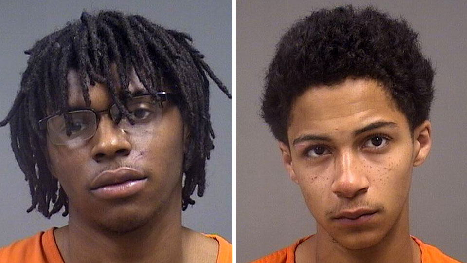 Keshon Phillips, 18, of Falls Avenue, who police said was the driver, was booked into the Mahoning County Jail on a charge of failure to comply while Braylon Hornbuckle, also 18, of Boardman, was booked into the jail on two counts of possession of drugs after a chase in Youngstown.