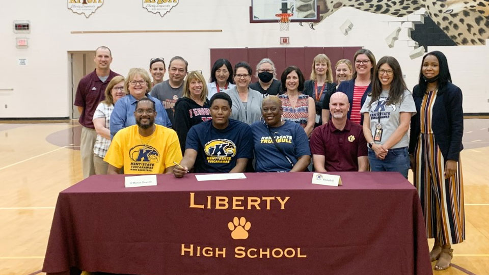 Liberty's O'Marion Dawson to continue education, basketball career at Kent State Tuscarawas