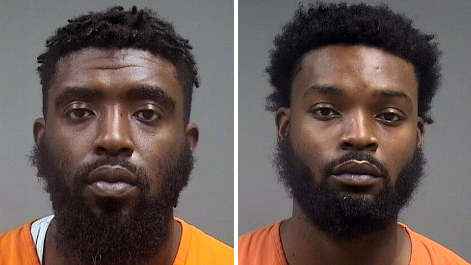 London Sanders, 29, of Harrisburg, Pa. and Marlin Sanders, 27, of Hermitage, Pa., are both in the Mahoning County Jail on charges of felonious assault and aggravated robbery
