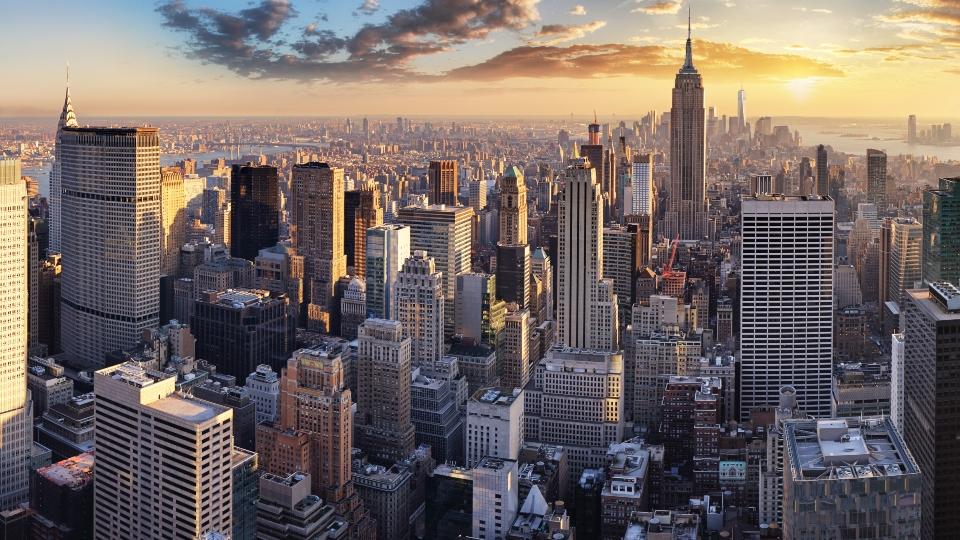 Manhattan, New York landscape