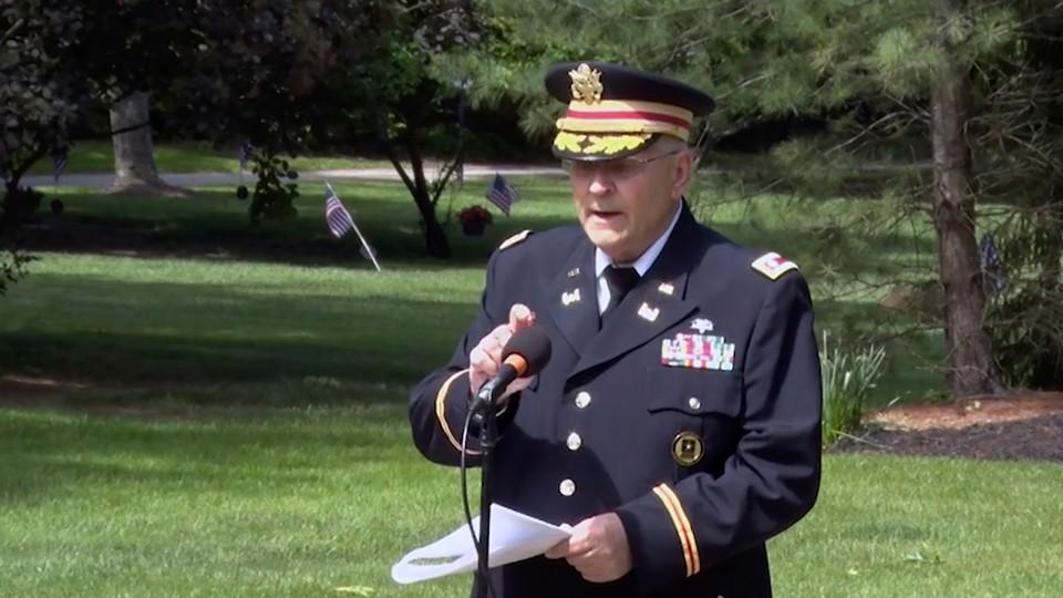 Memorial Day speech in Hudson, Ohio