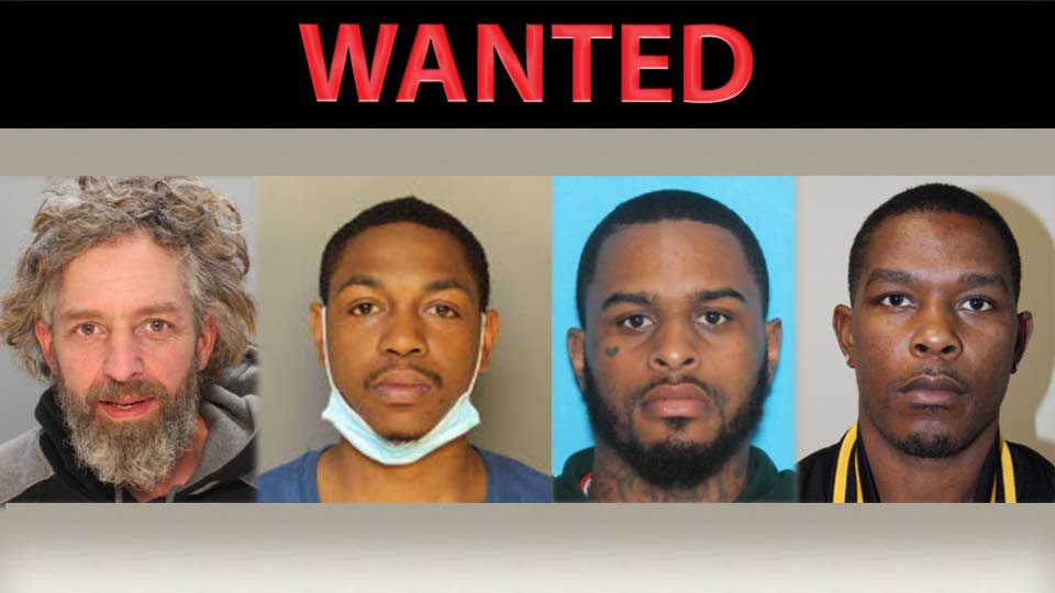 Forrest Gilmore, Jermall Johnson, Jimmy Gadson, Michael Love: FBI Pittsburgh is looking for the following individuals related to the arrests in Mercer and Lawrence Counties