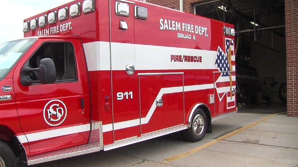 New Salem Fire Department ambulance