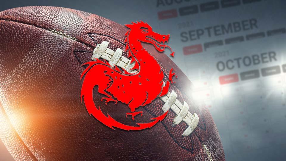 Niles McKinley Red Dragons High School Football Schedule
