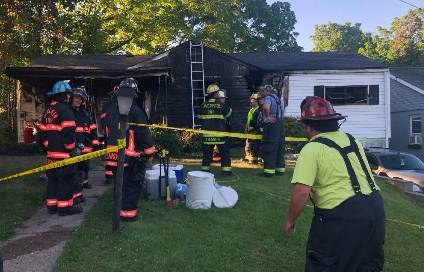 9th Avenue house fire in East Liverpool