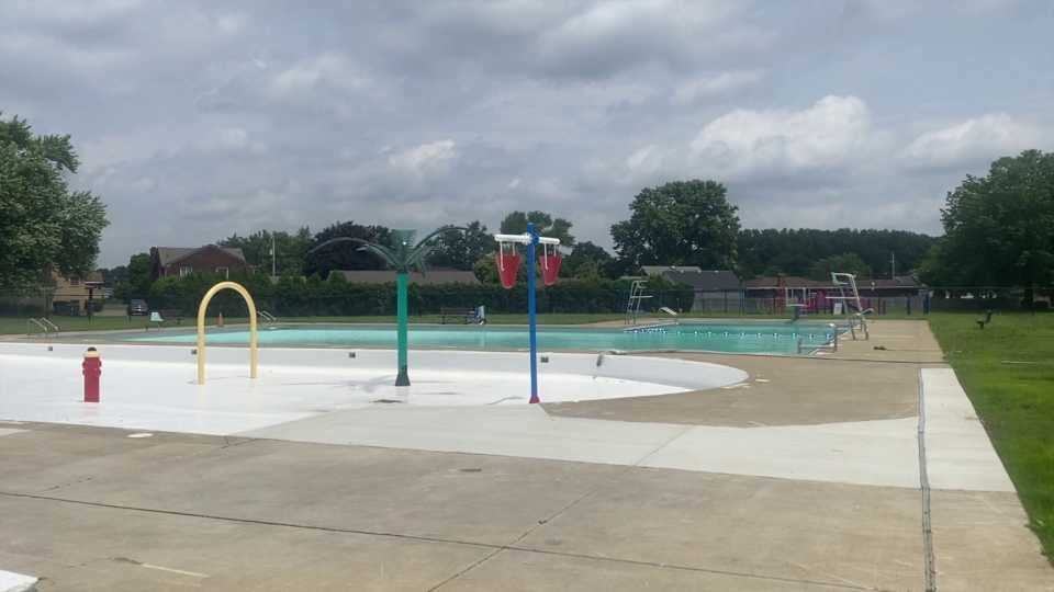 The north side pool was scheduled to open Monday, but it still remains closed.