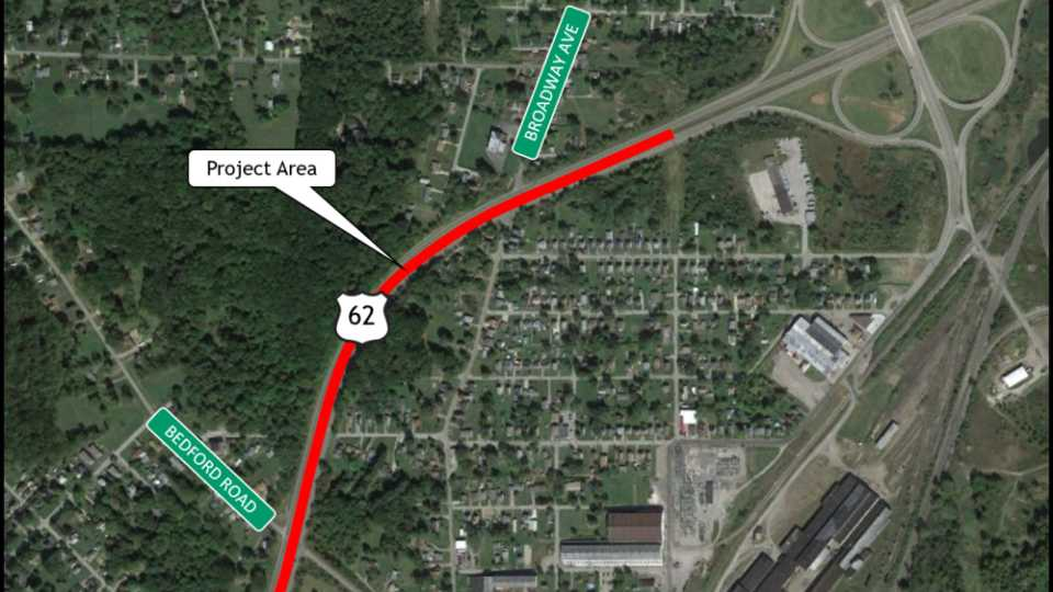 The Ohio Department of Transportation (ODOT) will host a virtual meeting to present information and hear comments from the community about a proposed project to improve safety at two Brookfield Township intersections.