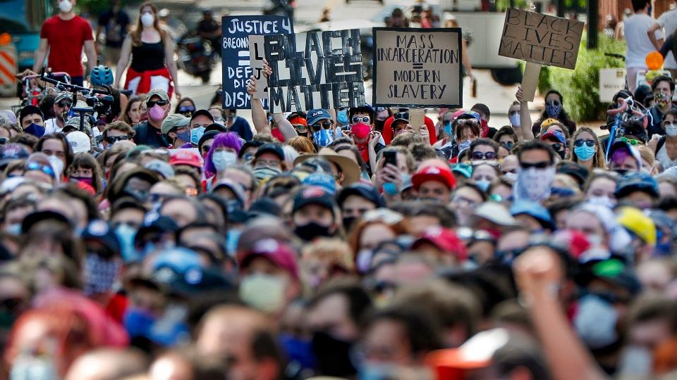 Pittsburgh protest, George Floyd