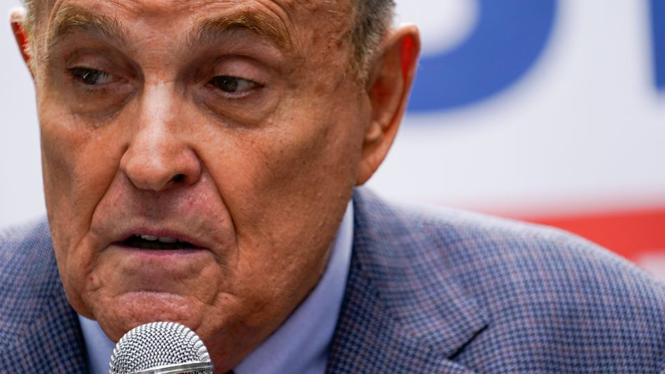 An appeals court suspended Rudy Giuliani from practicing law in New York because he made false statements while trying to get courts to overturn Donald Trump's loss in the presidential race.