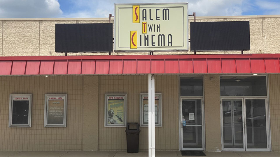 Salem Twin Cinema is set to reopen June 25 after being closed since last March.