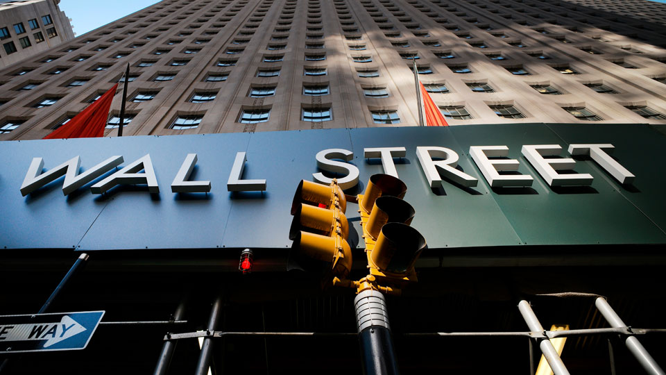 Wall Street building is shown, Wednesday, May 19, 2021, in New York