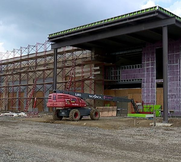 The Debartolo Commons at the Southern Park Mall in Boardman is taking shape. The project is coming along so well that a grand opening date has been set for Friday, Oct. 22 and Saturday, Oct. 23.