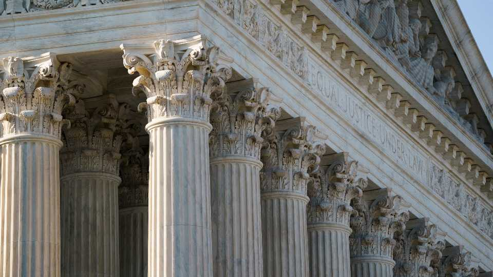 The U.S. Supreme Court is seen on Capitol Hill in Washington, Tuesday, June 29, 2021.