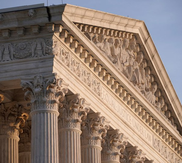 The Supreme Court is seen in Washington