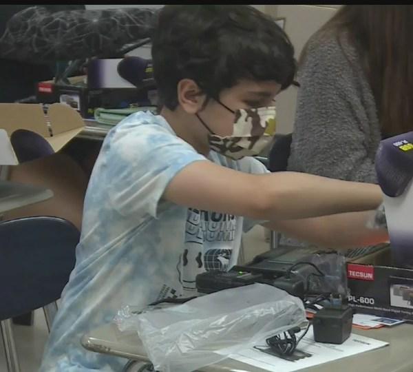 Valley Christian School's summer STEM Camp