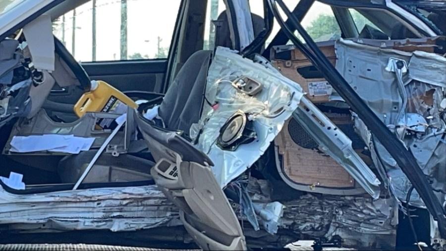 Warren fatal crash, Youngstown Road SE, inside vehicle