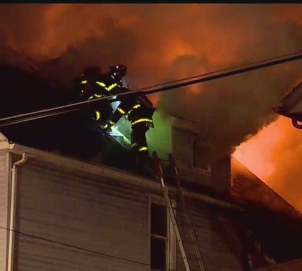 Youngstown fire on Silliman Street