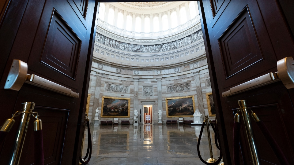 Capitol, symbol of democracy, off-limits on Independence Day