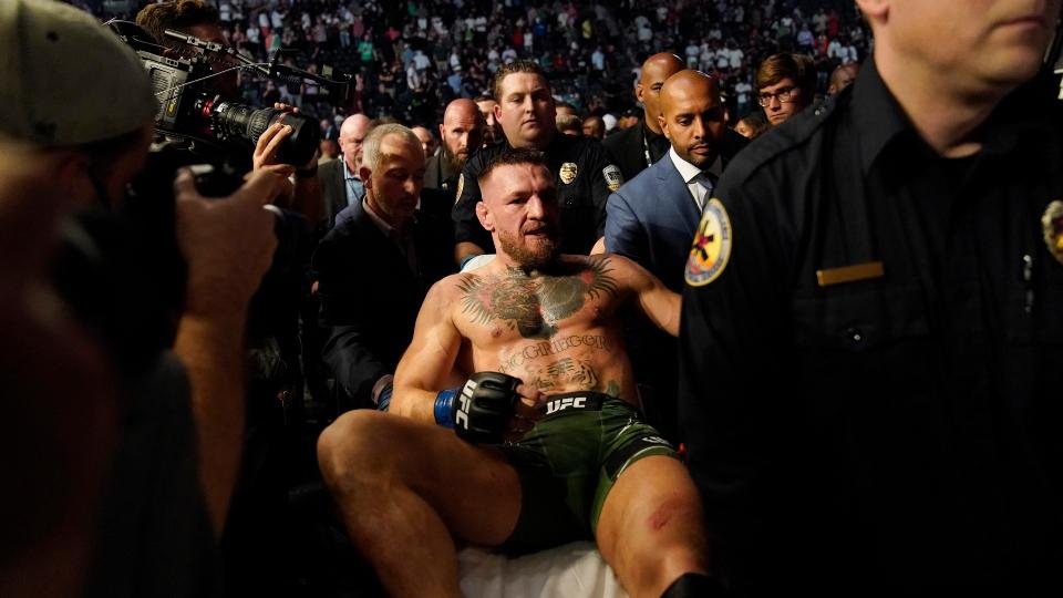 Conor McGregor injures ankle, Dustin Poirier wins UFC 264 showdown