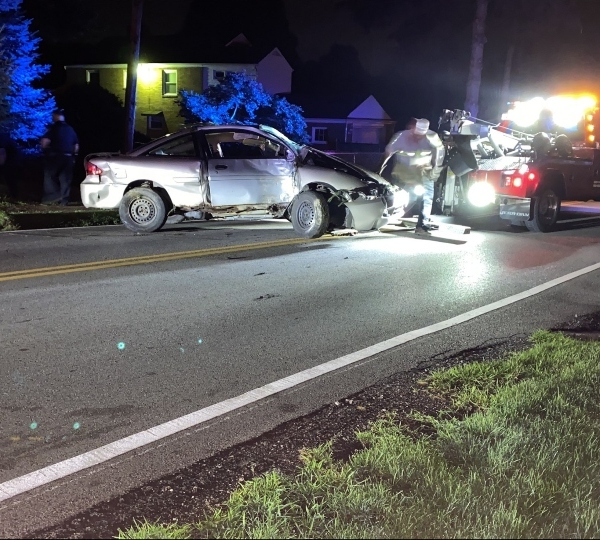 Police investigating after driver wraps car around tree in early morning crash