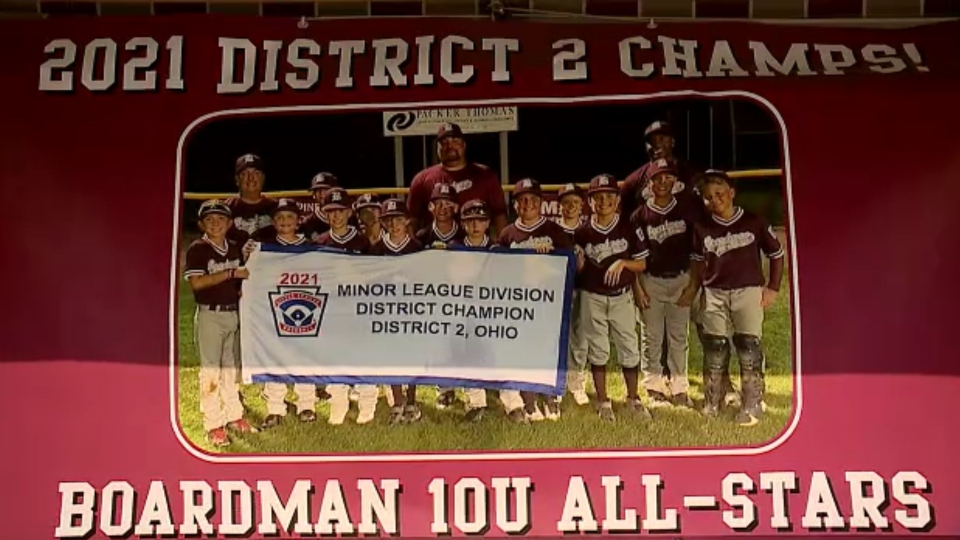 Young baseball players hold celebratory fundraiser dinner ahead of state championship