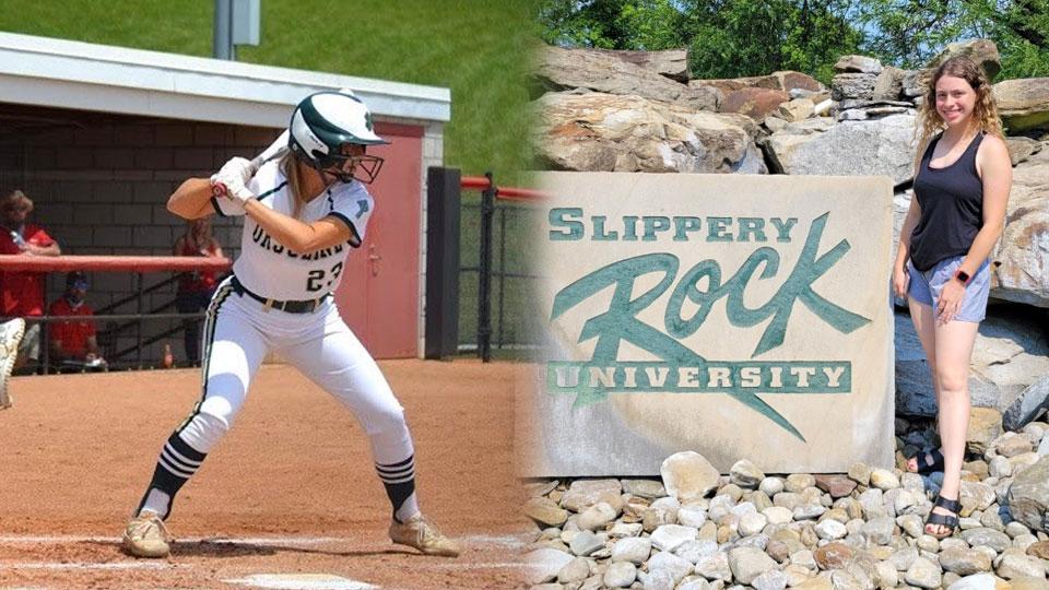 Alyssa Sheely, Slippery Rock softball