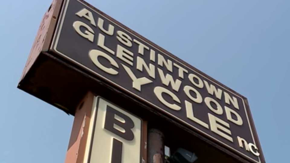 Brothers Don, 68, and Chris Johnson, 71, own the Austintown Glenwood Cycle Shop. On Saturday, they're going to retire, and at the same time, close their shop after 67 years in business.
