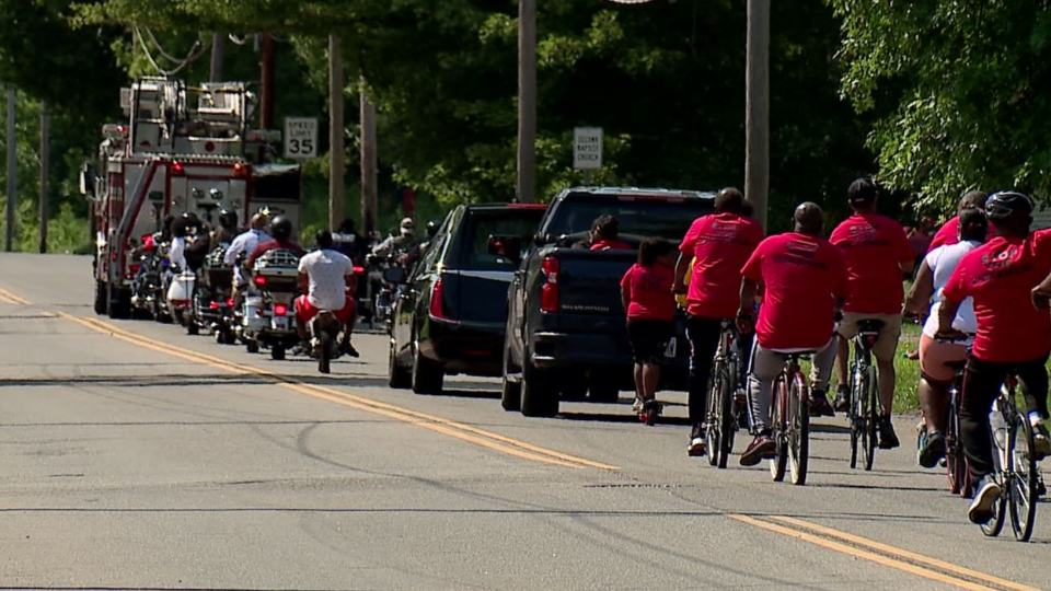 A stop the violence bike run happened in Warren Saturday.