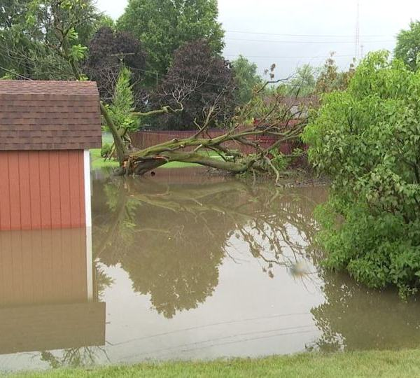 Boardman residents deal with ankle-deep water and trees down after weekend flooding and rainfall