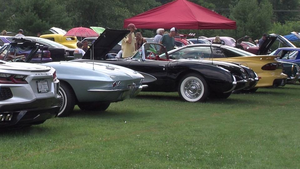 It was the ninth annual Armstrong Street Scene Car and Custom Bike show. This was their first year at Austintown park.