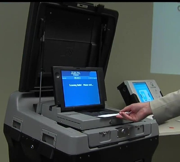 Columbiana County Board of Elections new voting machine