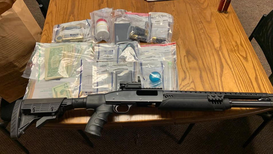 Columbiana County Sheriff's Office posted to Facebook Wednesday about seizing drugs, a gun and money.