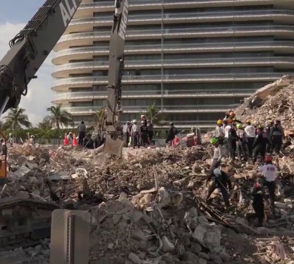 The country watched for weeks as images of the search and rescue effort in the southern Florida condo collapse kept coming.