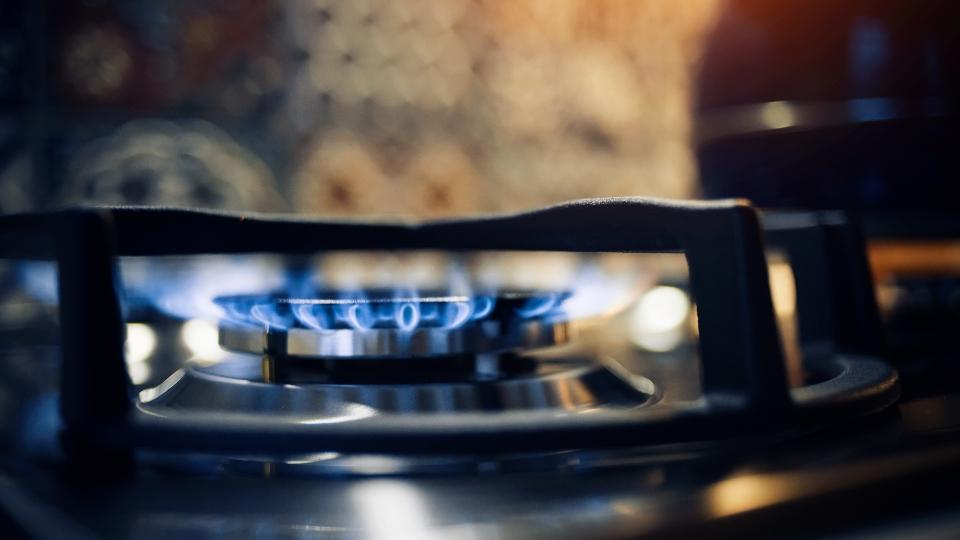 Gas stove, propane