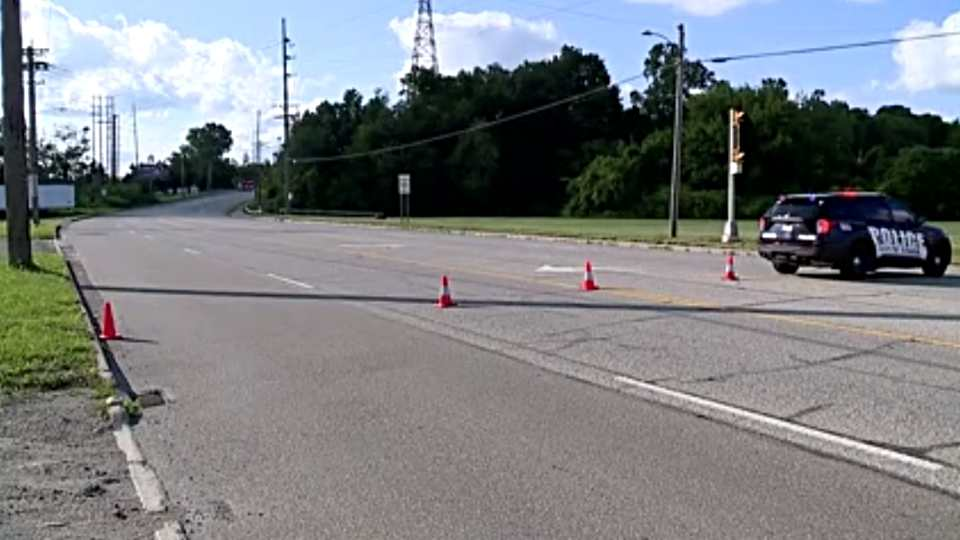 South State Street, also known as Route 422, is shut down south of I-80 due to a crash.