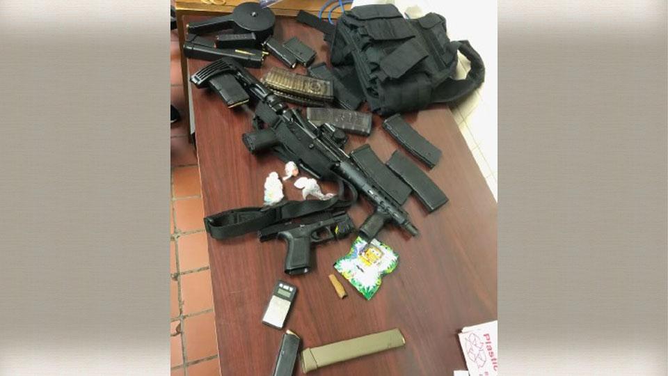 Gun arrest by YPD