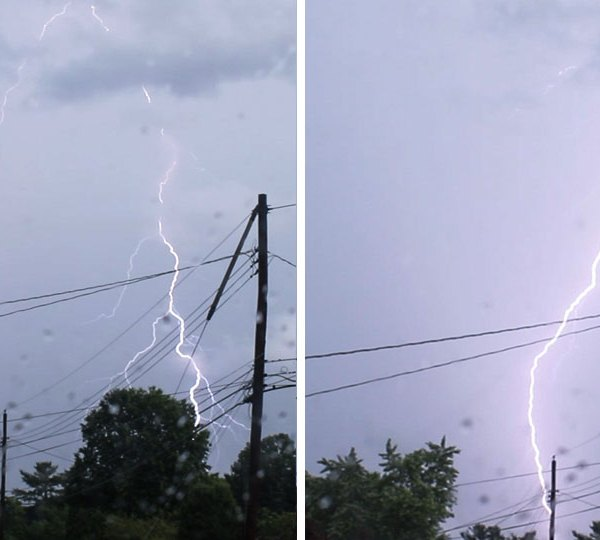 Hermitage lightning