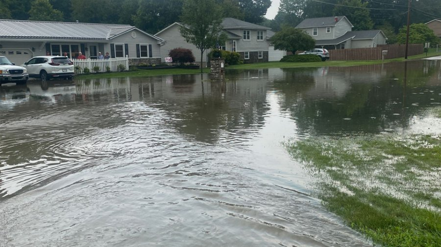 Hubbard covered road
