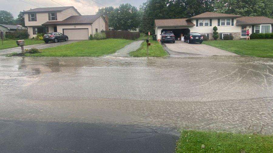 Hubbard flash flood