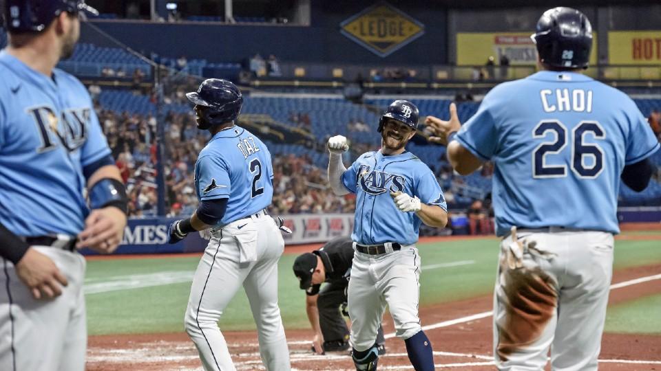 Indians, Rays baseball