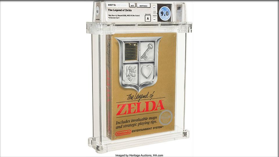 Heritage Auctions, The Legend of Zelda